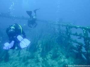 Dykkere, akterdekk